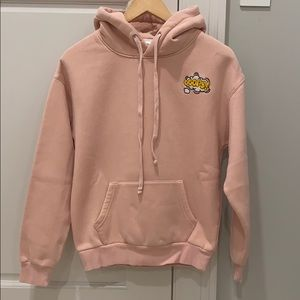 Like new pink hoodie size S designed in Korea